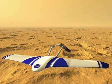 Phi cơ Mỹ sẽ bay trên sao Hỏa