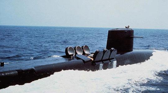 Tàu ngầm có thể chặn bão