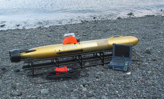 Robot khảo sát đại dương băng