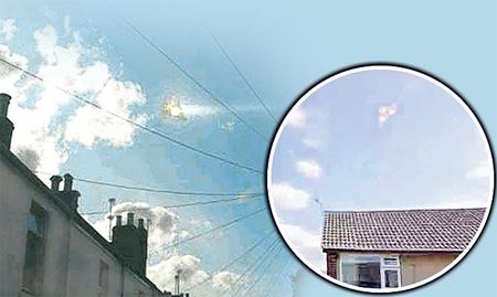 UFO xuất hiện tại Anh