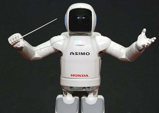 Người máy ASIMO chuẩn bị sinh nhật tròn 10 tuổi