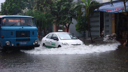 Phú Yên, Bình Định lại ngập lụt