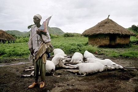 Hồ tử thần đe dọa Nigeria
