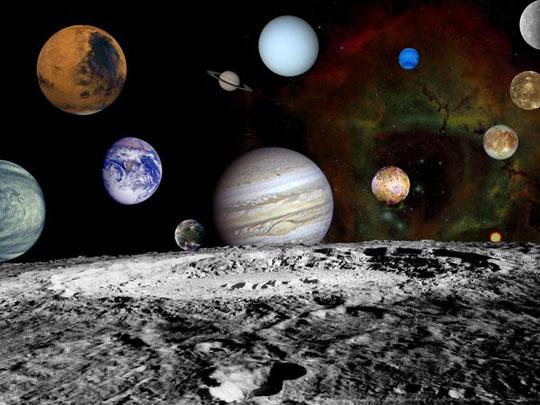Ảnh đẹp từ Hệ Mặt trời