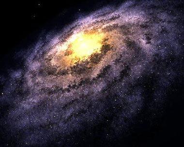 Bong bóng bí ẩn hiện ra giữa Ngân hà