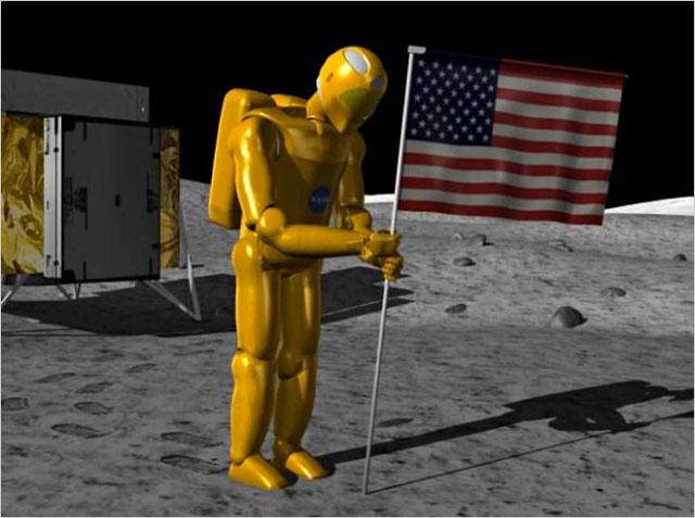 Phi hành gia người máy: Kế hoạch M của NASA