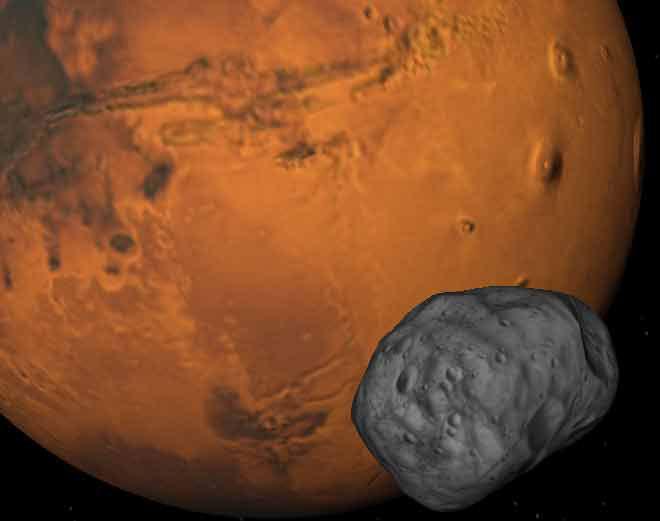 Nga sẽ phóng tàu lên vệ tinh của sao Hỏa