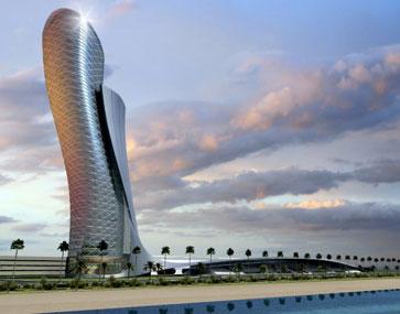 Tòa nhà chọc trời hình cây độc đáo