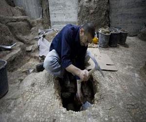 Phát hiện bể cổ 1.800 năm ở thành phố Jerusalem