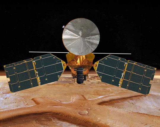 Phát hiện cây cầu đá trên sao Hỏa