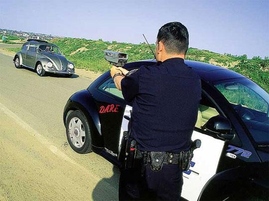 Súng radar giúp phát hiện các kẻ tấn công liều chết