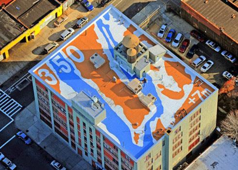Những bức ảnh chống biến đổi khí hậu chụp từ vệ tinh