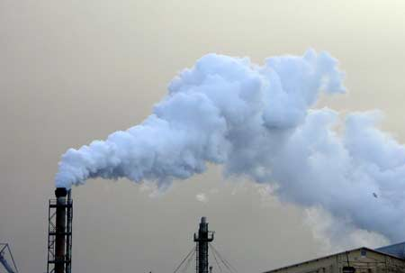 Khói thải từ các nhà máy công nghiệp