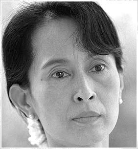 1991, Aung San Suu Kyi