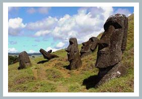 Tượng đá trên đảo Rapanui