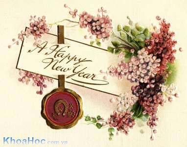 Chúc mừng năm mới - Hạnh phúc - Sức khỏe  - Bình An