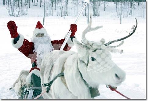 Giáng sinh này ông già Noel đi phát quà bằng gì?
