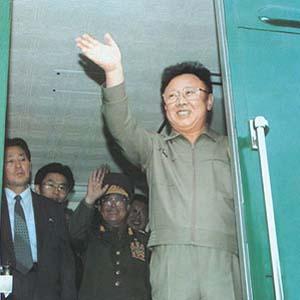 Xe lửa của Chủ tịch Kim có thể tàng hình