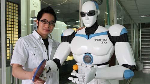 Robot thương hiệu Việt