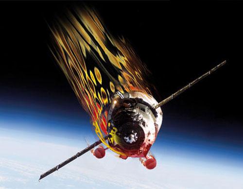 Phi thuyền Nga sẽ rơi vào tuần tới