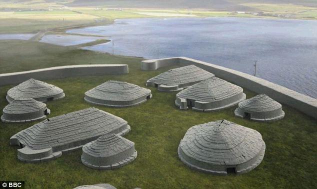 Tìm thấy 100 tòa nhà thời đồ đá ở Orkney.