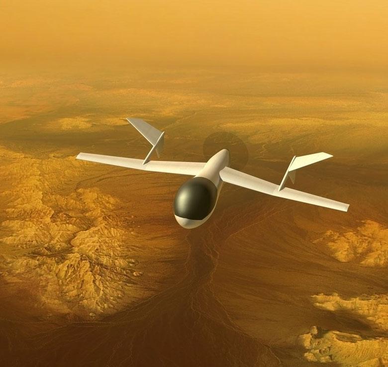 Chế tạo máy bay thám hiểm mặt trăng của sao Thổ