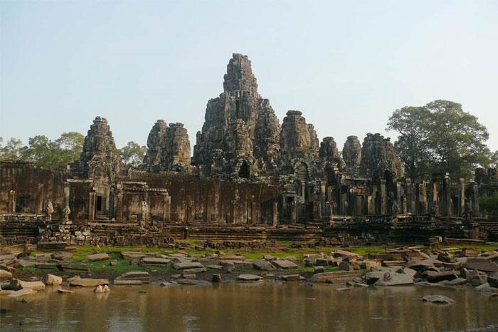 Cố đô Campuchia suy tàn vì hạn hán