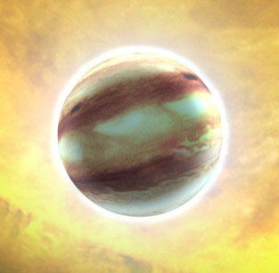 Phát hiện 4 hành tinh ngoại vi đầu tiên trong năm 2012