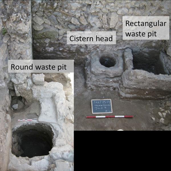 Mộ người Pompeii kèm theo các vật liệu gia dụng là do chôn người chết trong thành phố