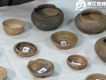 Phát hiện hơn 700 di vật khảo cổ ở Trung Quốc