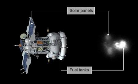 Video: Quay được tàu Phobos-Grunt đang di chuyển quanh trái đất