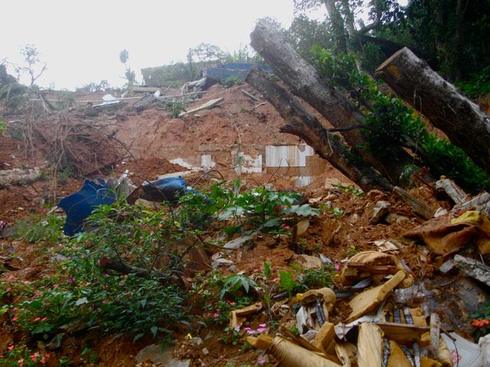 Lở đất tại Brazil làm nhiều người chết và mất tích