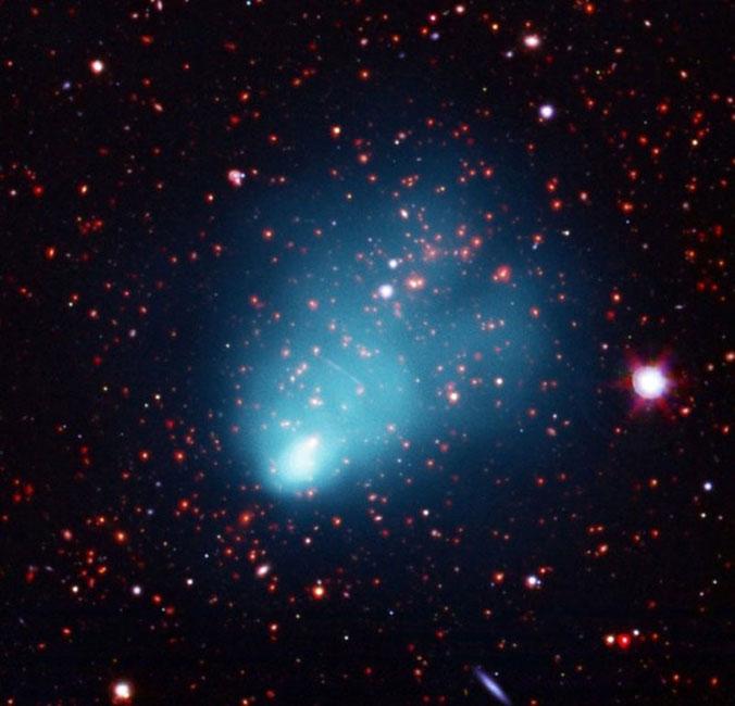 Phát hiện cụm thiên hà lớn