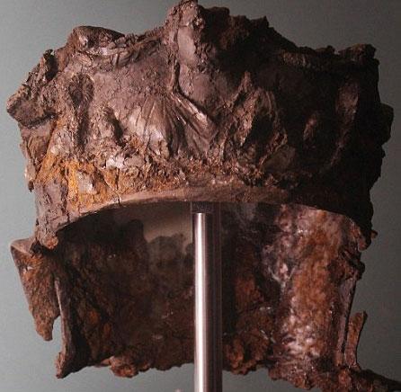 Phát hiện chiếc mũ 2.000 năm tuổi của kỵ binh La Mã