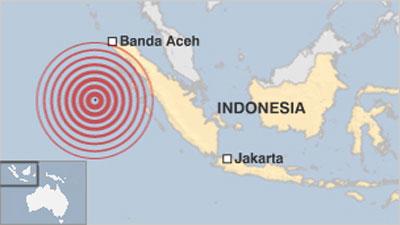 Động đất mạnh rung chuyển Indonesia, gây cảnh báo sóng thần