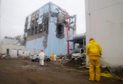 Lại rò rỉ nước phóng xạ tại nhà máy Fukushima 1