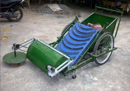 Xe quét và hốt rác tự động
