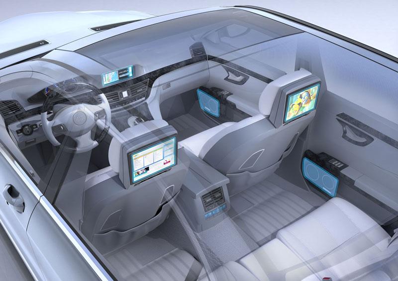 Đi ôtô gắn màn hình TV dễ mắc các bệnh tim mạch