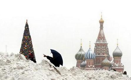 Tuyết dày hơn 1m ở khu vực miền đông