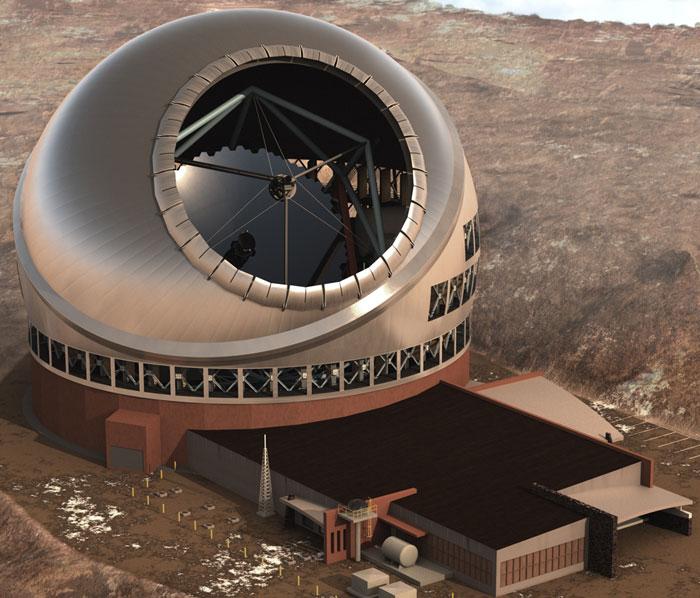 Thiết kế của kính viễn vọng Thirty Meter