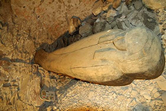 Phát hiện ngôi mộ 3000 năm tuổi của nữ ca sĩ