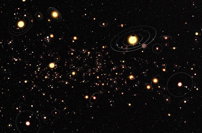 100 tỉ hành tinh trong dãy Ngân hà