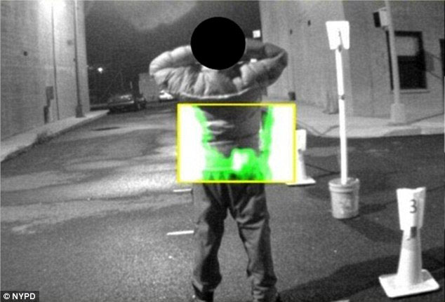 Thiết bị phát hiện người mang súng trên phố