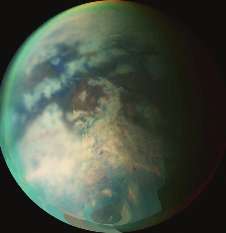 Công bố chi tiết các cồn cát trên Mặt Trăng Sao Thổ