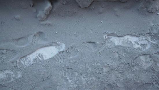 Tuyết có màu đen ở Nga