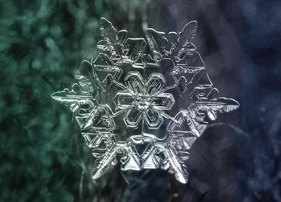 Hình dạng của băng tuyết