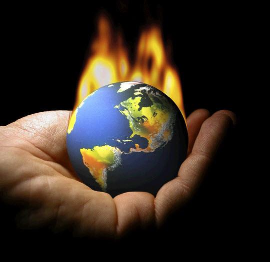 Trái đất nóng lên