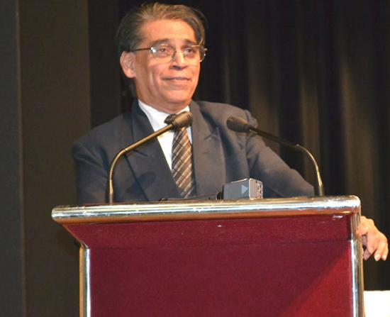 Thứ trưởng Bộ Khoa học và công nghệ Ấn Độ T Ramasami.