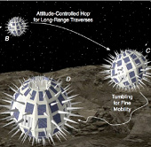 Robot thám hiểm vũ trụ hình cầu