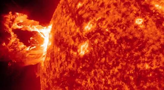 Số lượng vết đen trên mặt trời đang ở mức cực thấp.